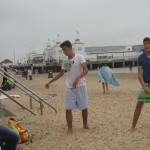 In spiaggia a Clacton