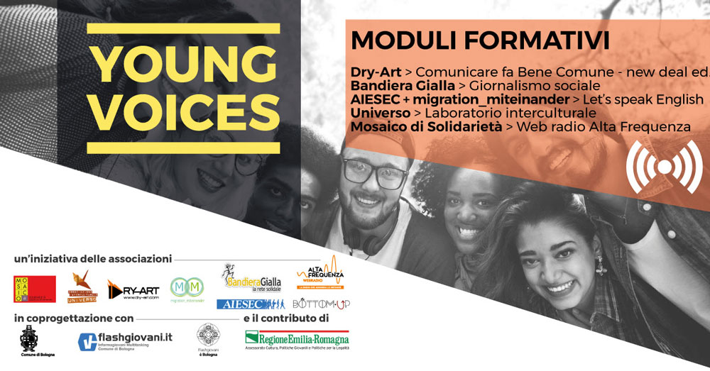 Locandina Young Voices