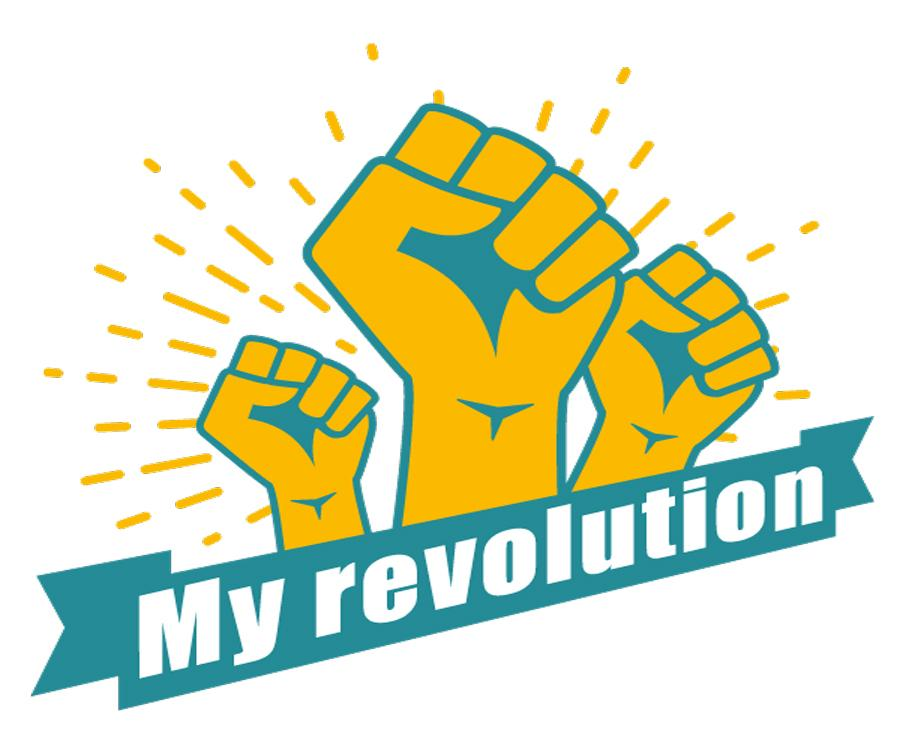 My revolution logo
