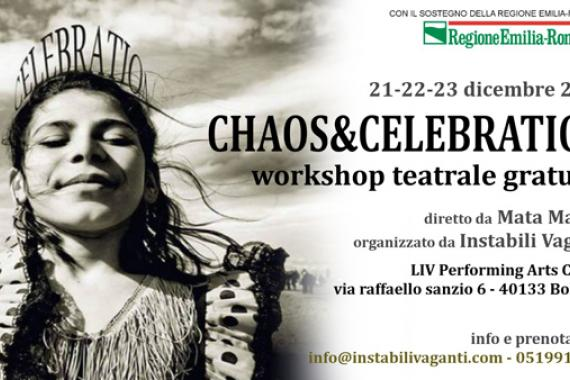 Workshop teatrale Chaos & Celebration
